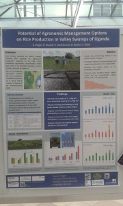 Suzanne Ziegler Potential of Agronomic Management Options on Rice Production in Valley Swamps of Uganda