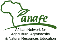 ANAFE Logo african network for agriculture agroforestry natural resources education