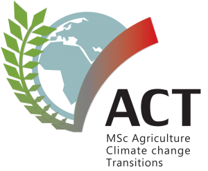ACT MSc Agriculture Climate change Transitions