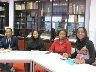 Doctorates presentation Melody Hove, Cynthia Chilaka, Lerato Motloung Abebe Ayelign, agrinatura