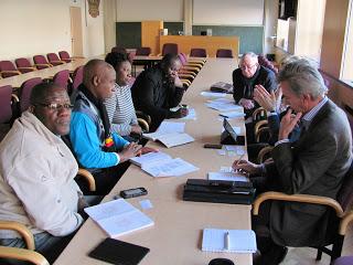 Meeting delegation agribusiness initiatives Belgian (SME) entrepreneurs agrinatura