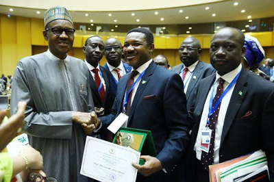 Winner of the African Union Kwame Nkrumah Continental Scientific Award agrinatura