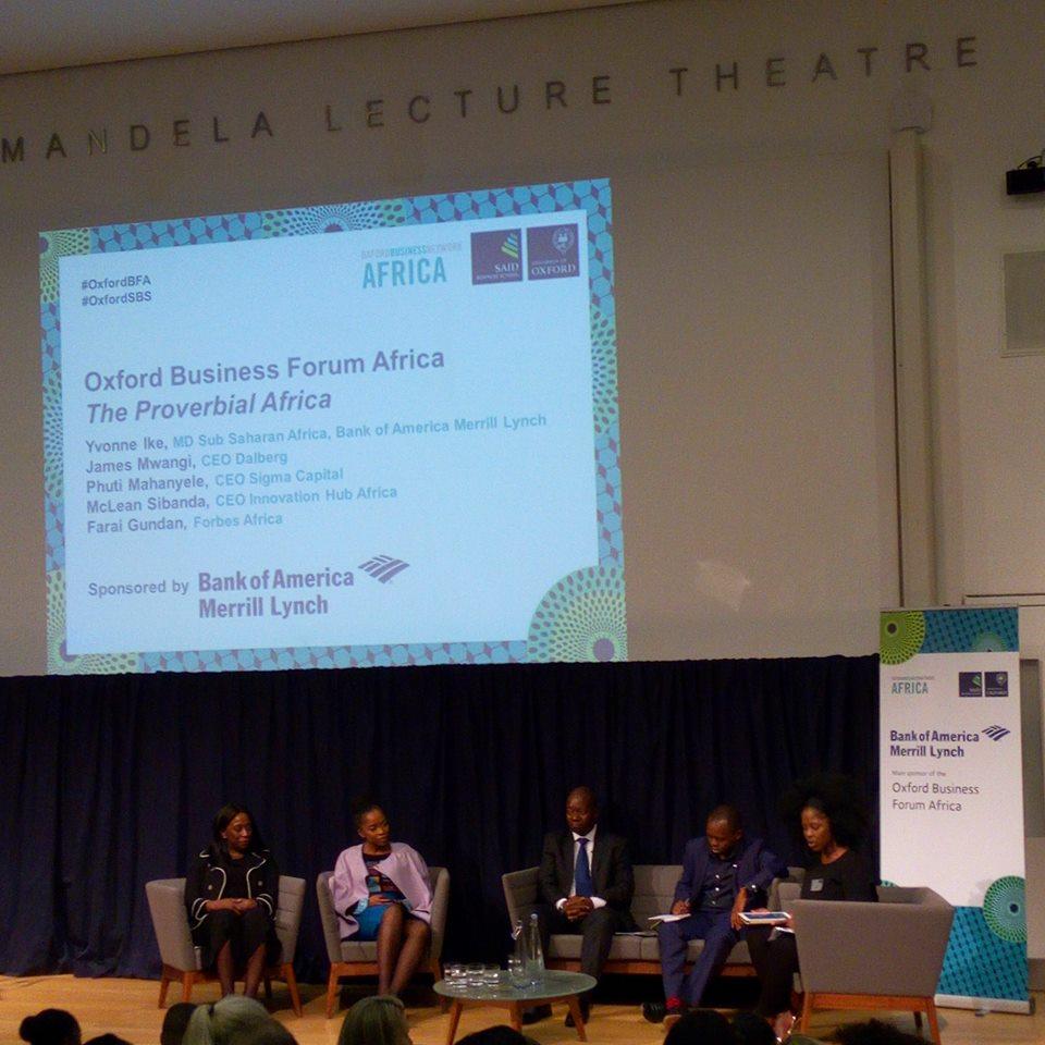 Oxford Business Forum Africa 2017 - Agrinatura