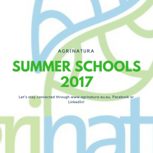 Agrinatura Summer Schools 2017