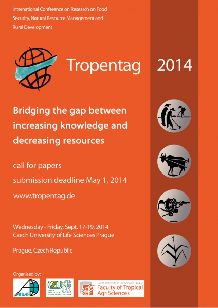 AGRINATURA Travel Grants and Poster Awards at Tropentag 2014