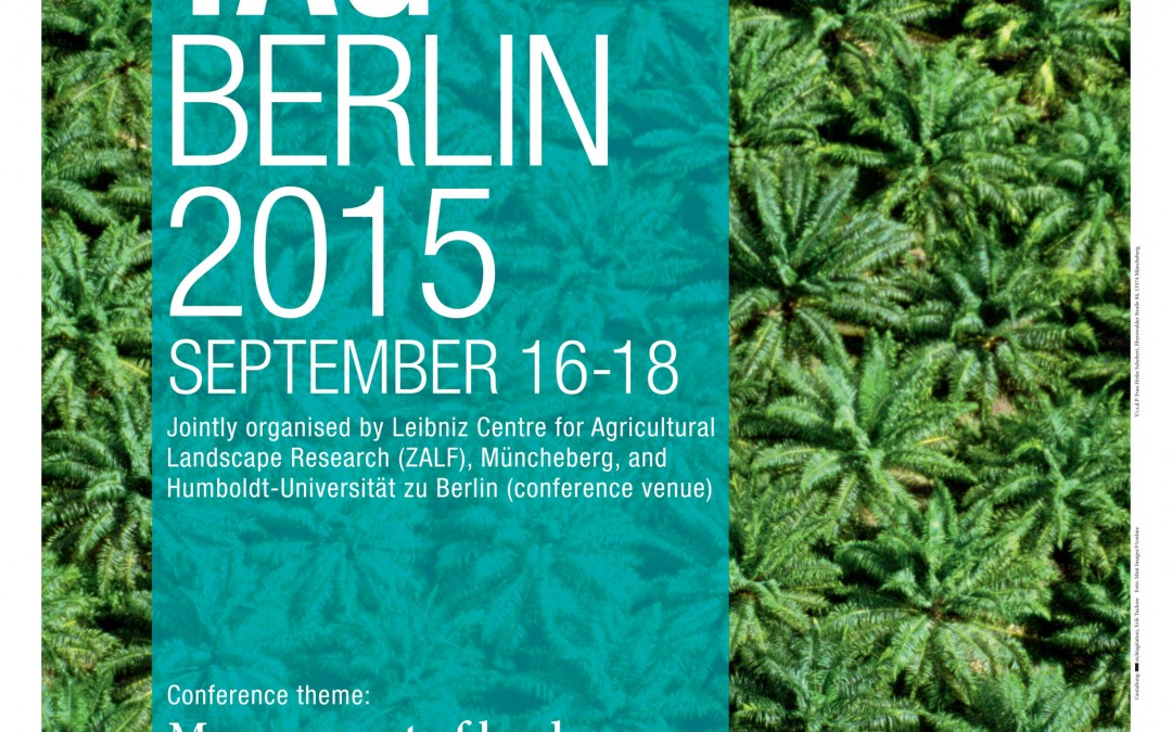AGRINATURA Travel Grants and Poster Awards at Tropentag 2015