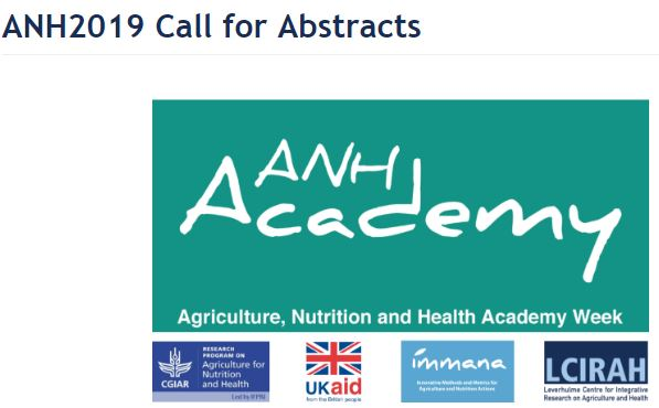 ANH2019 Call for Abstracts