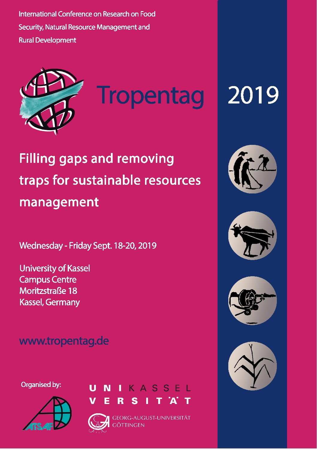 Be a student reporter at Tropentag 2019 !!!